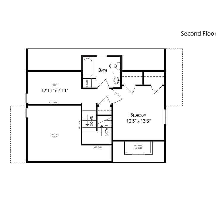 Expression cape cod ar colorado solar homes for Cape cod second floor plans